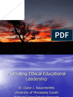 promoting ethical educational leadership power point 2006