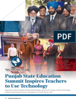 State Education Summit 2013 Punjab - Event Report