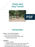 SwingTutorial.ppt