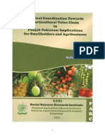 Vertical Coordination towards Horticultural Value Chain in Punjab Pakistan