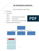 Formulir Informasi Jabatan Jfu Pengolah Data Pengairan