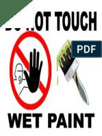 wet paint pdf
