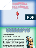 Principios de Ergonomia Ocupacional
