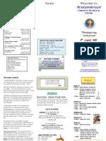 Newsletter 090809