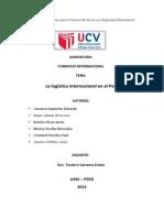 La logística internacional en el Perú mono