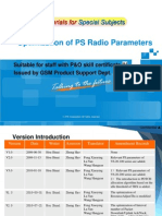 GSM Training Materials for Special Subjects--Optimization of PS Radio Parameters_R2