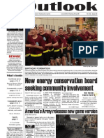 Outlook Newspaper  - 18 June 2009 - United States Army Garrison Vicenza - Caserma, Ederle, Italy