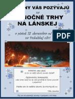 Vianočné trhy v Považskej :)