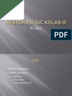 Restorasi GIC kelas III.pptx