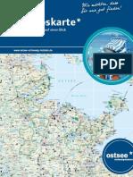 Urlaubskarte 2014 ostsee* schleswig-holstein