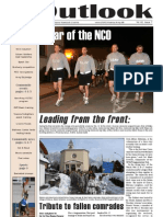 Outlook Newspaper  - 19 February 2009 - United States Army Garrison Vicenza - Caserma, Ederle, Italy