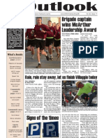 Outlook Newspaper  - 19 March 2009 - United States Army Garrison Vicenza - Caserma, Ederle, Italy