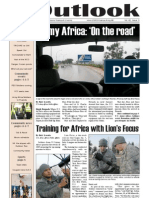 Outlook Newspaper  - 22 January 2009 - United States Army Garrison Vicenza - Caserma, Ederle, Italy
