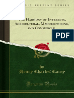 The Harmony of Interests Agricultural Manufacturing and Commercial