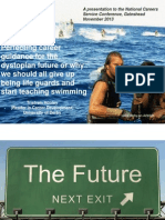 Perfecting career guidance for the dystopian future or why we should all give up being life guards and start teaching swimming