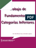 TRABAJO DE FUNDAMENTOS EN CATEGORÍAS INFERIORES
