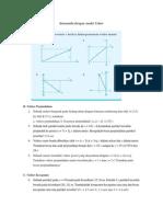 Soal Fisika KInematika Dengan Analisis Vektor