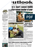 Outlook Newspaper  - 28 May 2009 - United States Army Garrison Vicenza - Caserma, Ederle, Italy
