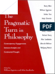 The Pragmatic Turn in Philosophy - Contemporary Engagements Between Analytic and Continental Thou.pdf