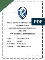ADDITIONAL MATHEMATICS PROJECT WORK (updated 060413).docx