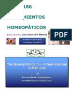 Protocolos Homeopaticos Banerji Remedios y Diluciones Optimas