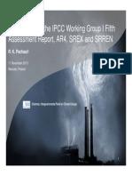 Presentation by IPCC Chairman, Rajendra Pachauri, at #COP19
