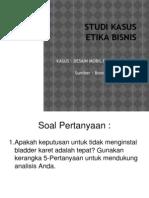 Contoh Pembahasan Kasus -PINTO- Kerangka Analisis 5 Pertanyaan