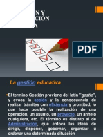 GESTION EDUCATIVA Y ACREDITACIÓN