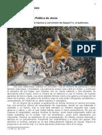 417 Historia de Zacarías el leproso y conversión de Zaqueo, el publicano