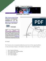 7 of Cups - Venus in Ophiuchus - Illuminati Tarot