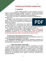 Normativitatea activității didactice.doc