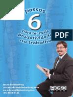Seis Passos Para Ter Mais Produtividade No Trabalho - Bruno Blankenburg
