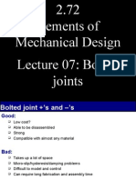 2.72 Elements of Mechanical Design Lecture 07