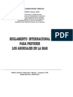Reglamento Internacional Prevenir Abordajes Mar- Carbonero