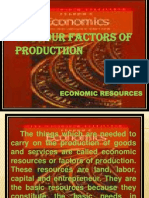 THE FOUR FACTORS OF PRODUCTIION.ppt
