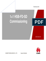 1+1 HSB SD FD Commissioning