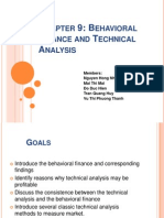 [Edited]Behavioral Finance and Technical Analysis