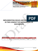 Nfjpiar3_1314_IRR No. 7_Safekeeping of Documents