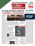 Il Fatto Quotidiano 13 Ottobre 2013