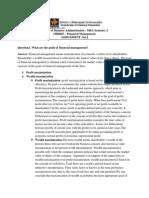 financial management MB0045.docx
