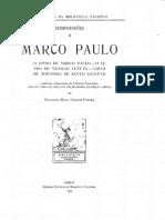 O livro de Marco Paulo e O livro de Nicolao Veneto