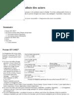 Désignation normalisée des aciers EN 10027