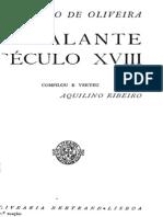 O galante século XVIII, por Cavaleiro de Oliveira