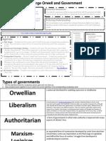 la - literature - george orwell and government