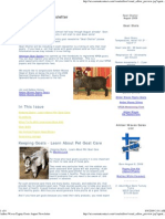 Goat Chatter - August 2009 Newsletter