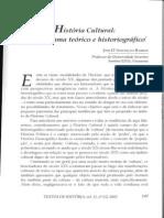 Historia cultural um panorama teórico e historiográfico
