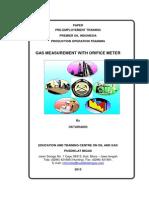 Gas Measurement With Orifice Meter_oktariandi