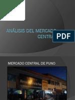 Analisis Del Mercado Central de Puno