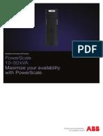 ABB Online UPS PowerScale 10-50KVA