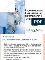 print Recognition and Assessment of the Seriously Ill Patient- dr. suparto.ppt